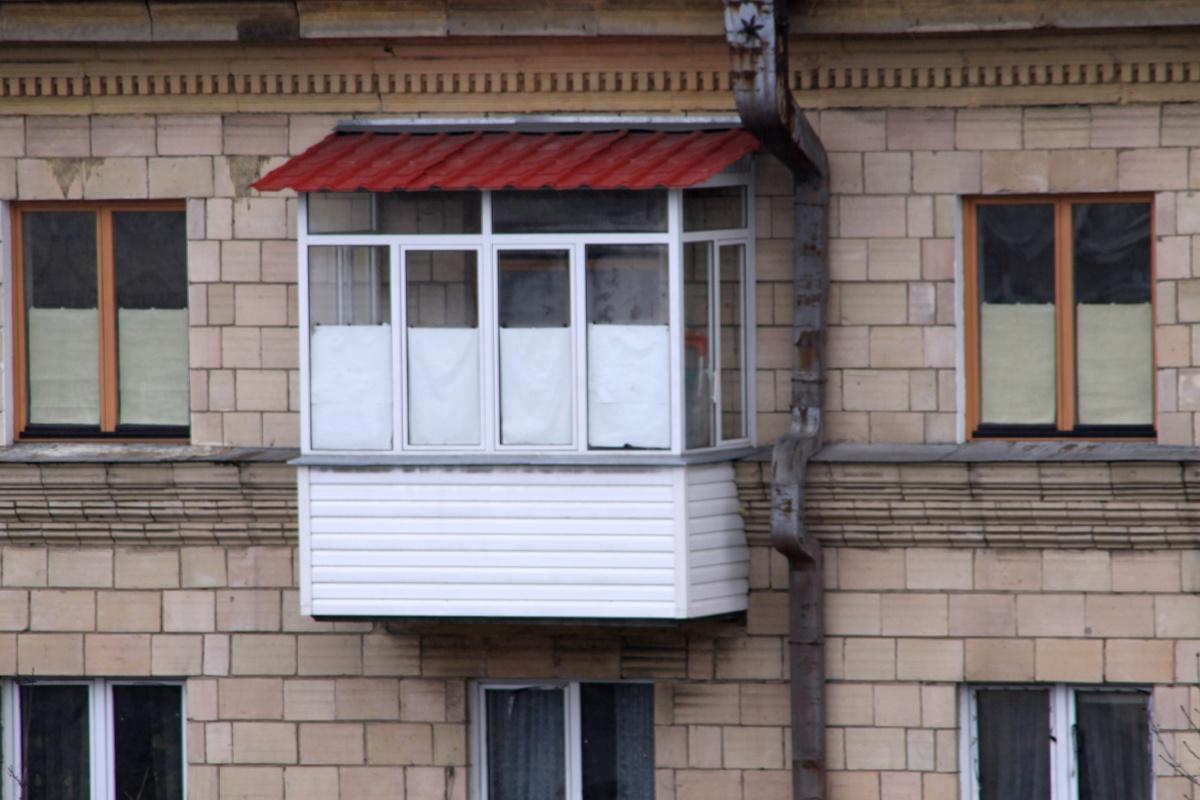 лоджия с крышей