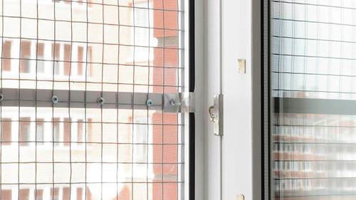3. Металлическая сетка на окна