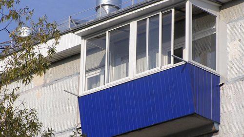 Утепление балкона с внешней стороны