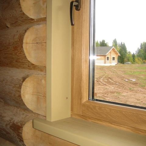 Что такое окосячка в деревянном доме
