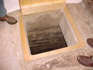 погреб в полу