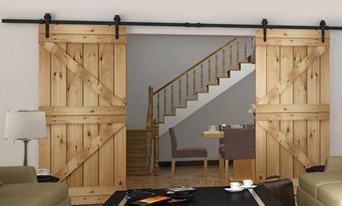 •Раздвижные двери в интерьере