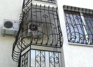 решетки на неостекленный балкон