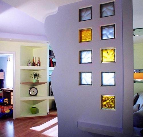 Декоративные стеклоблоки