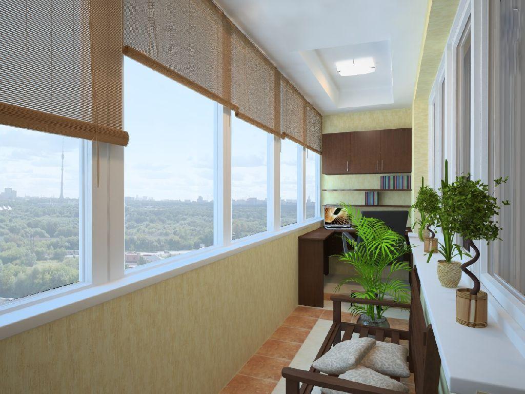 вид балкона