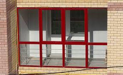 Витражи балконные