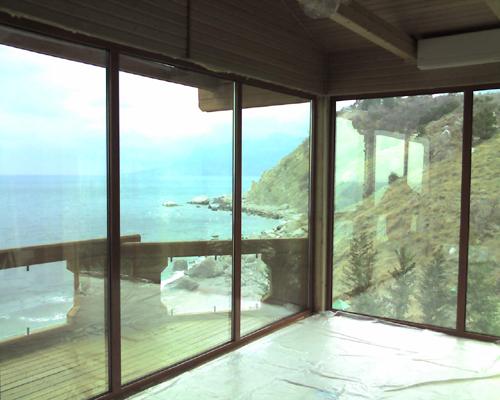 Алюминиевые панорамные окна