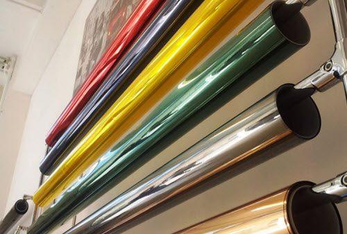 выбор цвета пленки для пластиковых окон